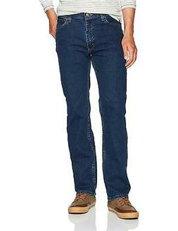 Wrangler Men's Authentics Comfort Flex Waist Jean, Dark Ston
