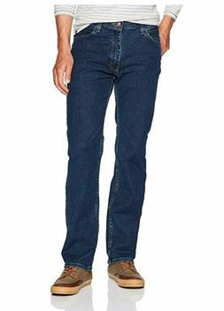 Wrangler Authentics Mens Reg Fit Comfort Flex Waist Jean Dar