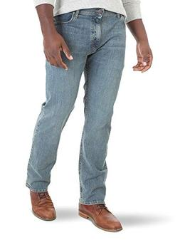 Wrangler Authentics Men's Regular Fit Comfort Flex Waist Jea
