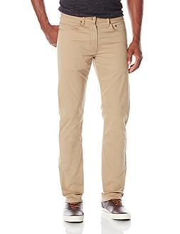 Wrangler Men's Authentics Premium Slim Stretch Pant, Fawn Su