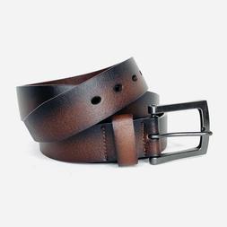 Marino Avenue Mens Brown/Black Classic Jean Casual Leather B