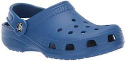 Crocs Baby Classic Clog, Blue Jean, 7 M US Toddler
