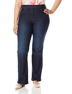 NYDJ Women's Plus-Size Barbara Bootcut Jeans, Burbank, 14W