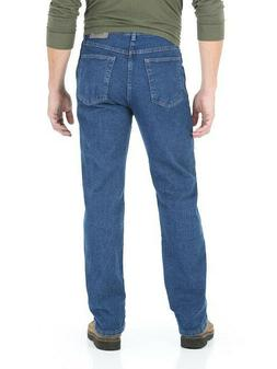 a6049b24 WRANGLER Big Men's Regular Fit Jeans with Comfort Flex Waist