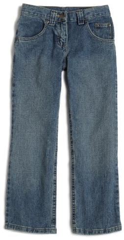 Lee Big Boys' Husky Relaxed Fit Straight Leg Jeans,Worn Hand