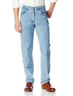 Wrangler Men's Big Rugged Wear Relaxed Fit Jean ,Vintage Ind