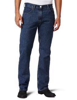 Levi's Big and Tall 505 Original-Fit Dark Jeans