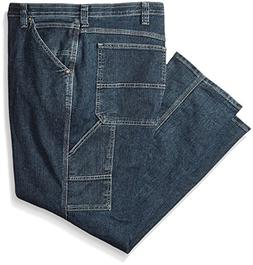 Lee Men's Big-Tall Custom Fit Carpenter Jean, Quartz Stone,