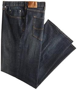 Lee® Men's Storm Rider Blue Big & Tall Relaxed Straight-