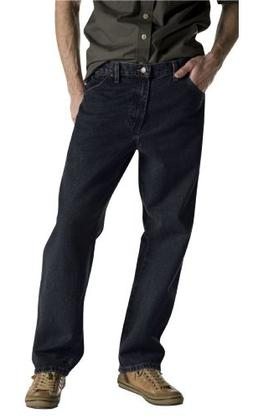 Dickies Men's Big-Tall Overdyed Relaxed Fit Jean, Black, 50x