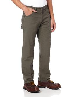 Dickies Men's Relaxed Fit Duck Jean, Moss, 36x36