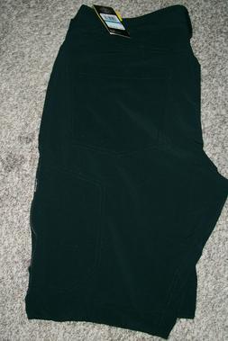 black loose fit water resistant storm pants