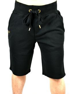 True Religion Brand Jeans Men's Basic True Black Sweat Short