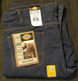 BRAND NEW Dickies Dark Blue Work Jeans 38 x 29 Regular Fit 5