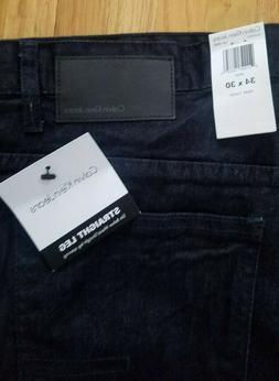 Brand New Calvin Klein Jeans Dark Wash RINSE Straight Leg Si