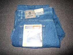 Brand New WRANGLER Regular Fit Flex Waist Men's Blue Jeans ~