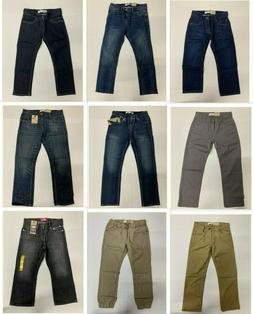Brand New with Tag Levi's Kids Big Boys  Jeans Multiple Size
