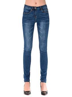 HONTOUTE Butt Lift Jeans for Women Shaping Slim 4-Ways Stret