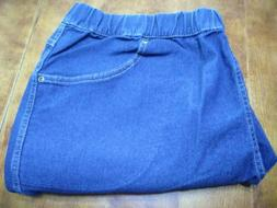 Just My Size By Hanes Denim Pull on Jean Petite