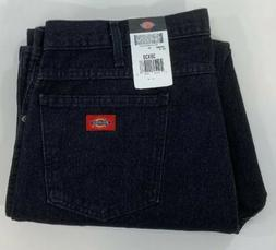 Dickies Occupational Workwear C993RBK 38x30 Denim Cotton Reg