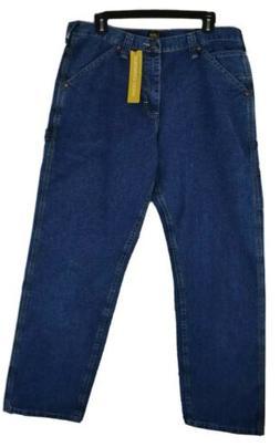 Lee Carpenter Jeans Authentic Stone Denim Straight Leg Loose