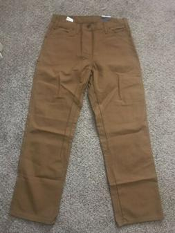 DICKIES CARPENTER JEANS Relaxed Fit Straight Leg Duck Brown