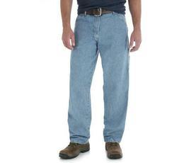 WRANGLER Carpenter Jeans Relaxed Fit Straight Leg NWT Light