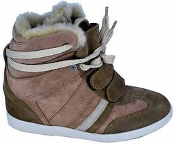 Chaussure Wedge Woman Light Brown Serafini Sneaker Woman Lig