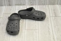 + Crocs Classic Clog - Slate Grey - Unisex M:4 / W:6