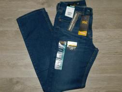 LEE Classic Fit Jeans Straight Leg Premium Flex Empire Dk Bl