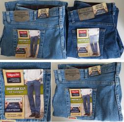 c178e691 Editorial Pick Wrangler Comfort Flex Waistband Regular Fit Jean - Men's Siz
