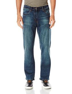 Izod Men's Comfort Stretch Relaxed Fit Jean,40x30,Lexington