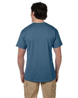 Hanes Adult ComfortBlend EcoSmart T-Shirt, DENIM BLUE, XXX-L