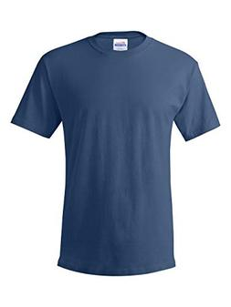 Hanes ComfortSoft Men's Crewneck T-Shirt 4-Pack Denim Blue S