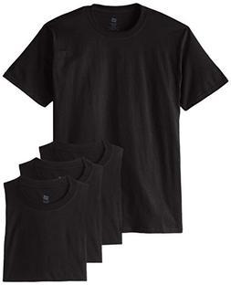 Hanes Men's Comfortsoft T-Shirt ,black,4XL