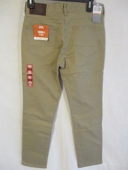 Dockers Cotton Blnd Beige Colored Slim Fit 5 Pocket Jeans w/