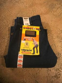 Wrangler Men's Cowboy Cut Original Fit Jean, Prewashed Indig