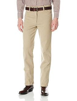 Wrangler Men's Cowboy Cut Slim Fit Jean, Khaki, 36x36