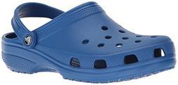 crocs Women's Classic Mule  Blue Jean - 12 US Men/ 14 US Wom