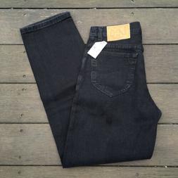 Deadstock Vintage LEE Black Stone Denim Jeans Pants Size 30