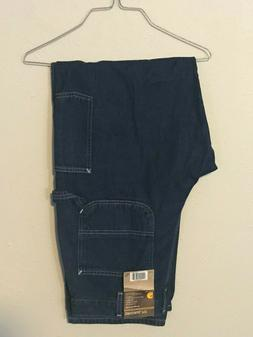 Carhartt Denim 100% Cotton Carpenter Blue Jeans 38W 30L Fire