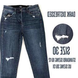 denim jeans skinny fit size 30 dark
