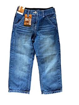 Lee Boys Dungarees Relaxed Straight Leg Sure 2 Fit Jeans