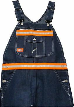 Dickies  Enhanced Visibility  Zipper Pocket Bib Overall  w/O