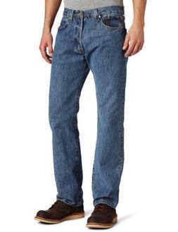 Levi's 00501 Men's 501 Original Fit Jean, Medium Stonewash -