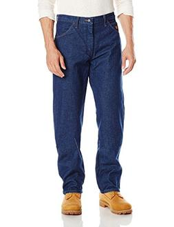 Wrangler Men's Flame Resistant Relaxed Fit Jean,Blue,40x32