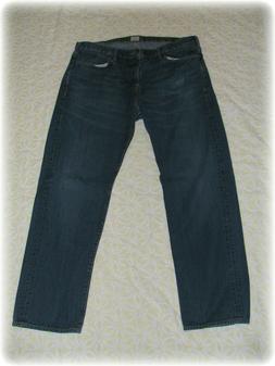 Genuine Dockers Men's Denim Blue Jeans Pants 40x32 Excellent