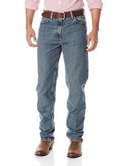 Genuine Wrangler Men's Relaxed Fit Jean,Mediterranean,40x30