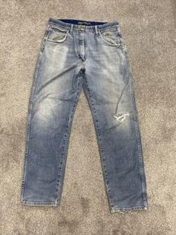 Wrangler George Strait Cowboy Cut Original Fit Blue Jeans Me