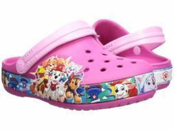 Crocs Girl's Fun Lab Paw Patrol Band Kid's Fuchsia Pink Clog